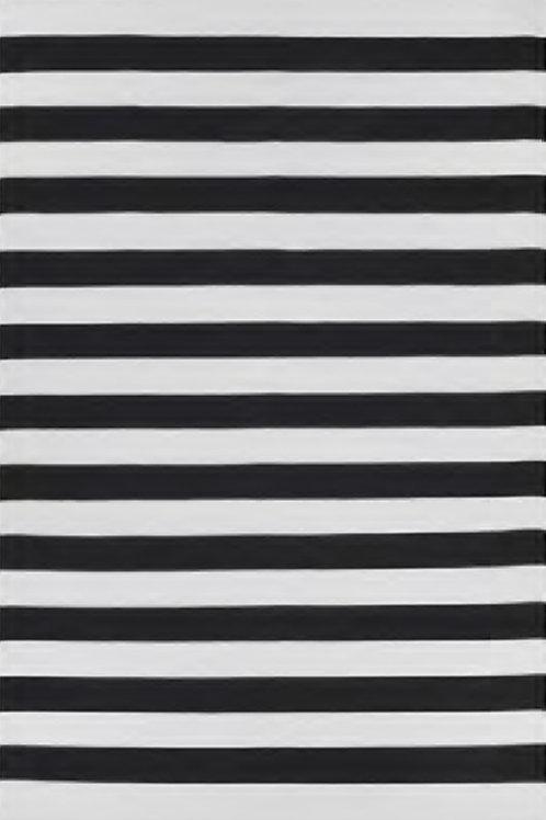 Nantucket - Black & Bright White
