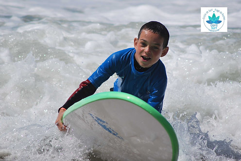 10 cours de Surf Enfants - de 9 ans