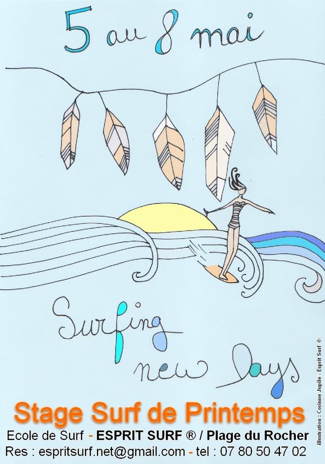 SURFING NEW DAYS