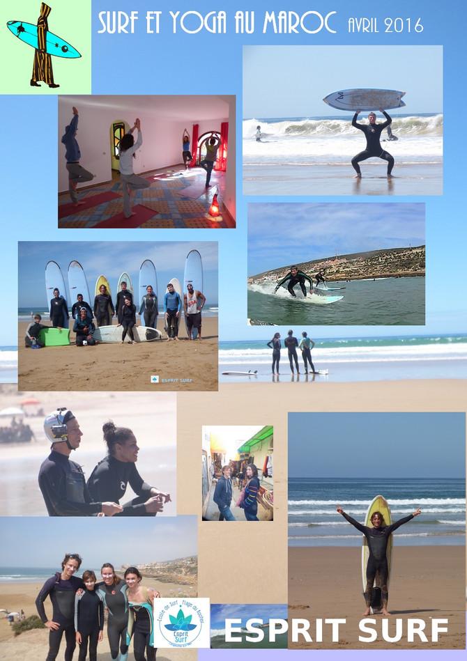 Surf et Yoga au Maroc
