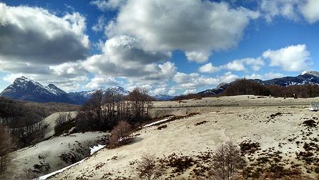 Atravessando a Cordilheira dos Andes, Puyehue.