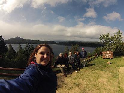 Visita a Cervejaria Patagônia na beira do Lago Moreno.