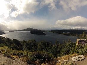 Visão panorâmica do Lago Moreno.