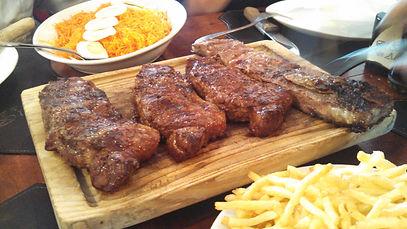 Um gostoso churrasco argentino.