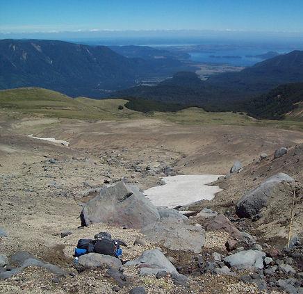 Impressionante imagem do vale do rio Puyehue, Chile.