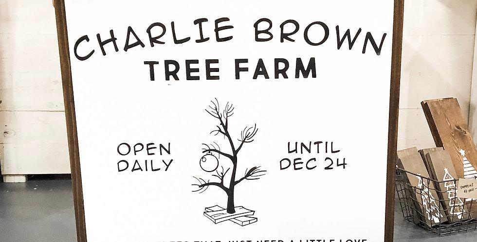 Charlie Brown Tree Farm
