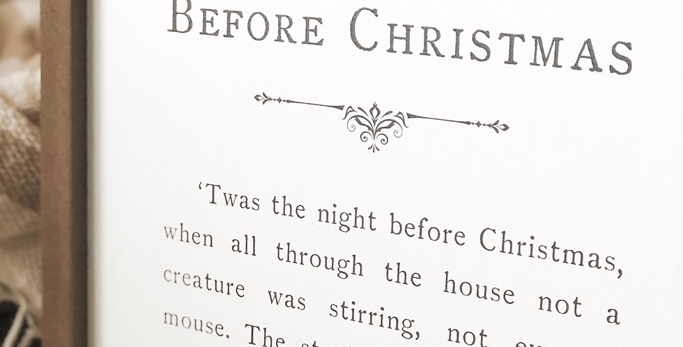 Twas the Night Before Christmas {Medium}