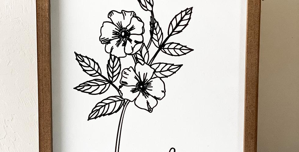 Large Flowers {Individual}