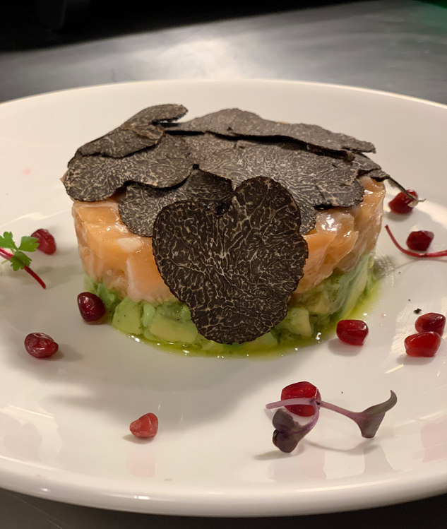 Salmon Avocado Tartare