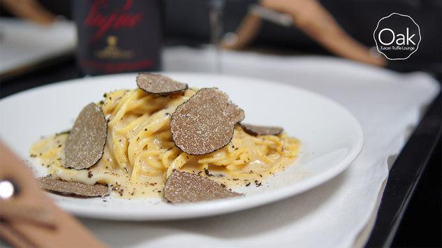 Tagliolino Classico with Black Truffle