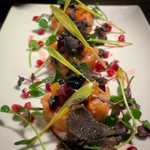 Salmon Taartare Speciale