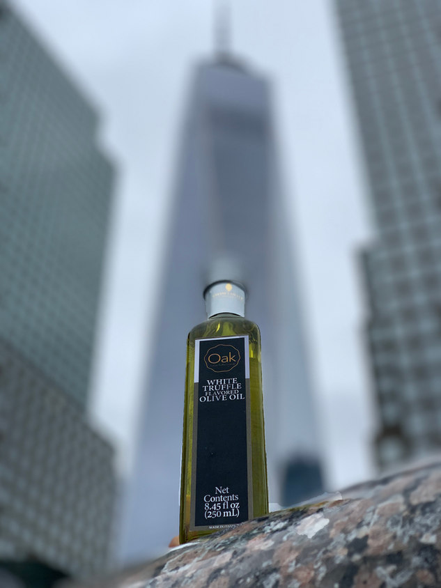 """Our """"Towering"""" Truffle Oil"""