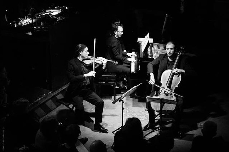 Festivals de Wallonie Charleroi | Trio Spilliaert | Jean-Samuel Bez Guillaume Lagraviere Gauvain de Morant