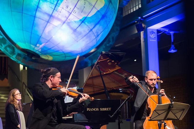 L'incroyable Mundaneum de Mons   Trio Spilliaert [ Jean-Samuel Bez Guillaume Lagravière Gauvain de Morant