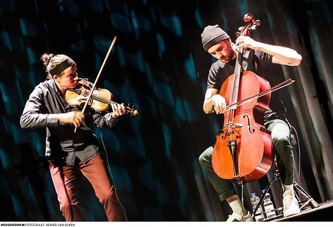 Neushoorn Leeuwarden Arstidir String DuoGuillaume Lagravière Jean-Samuel Bez