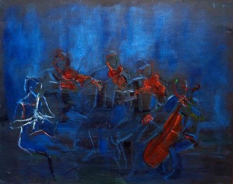 Painting Marie Chimkovitch, Glabais, Festival Mozart