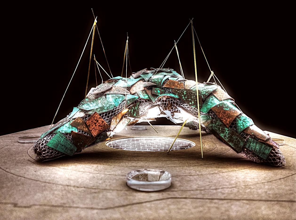 Exhibition Model - Copper Panels