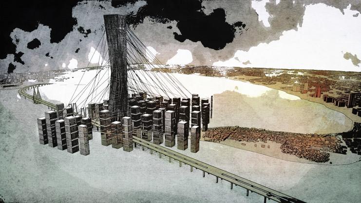 Aerial Bridge View