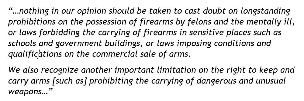 Heller Decision Excerpt