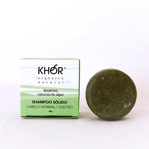 Shampoo Sólido KHOR - Cabelos normais/ oleosos