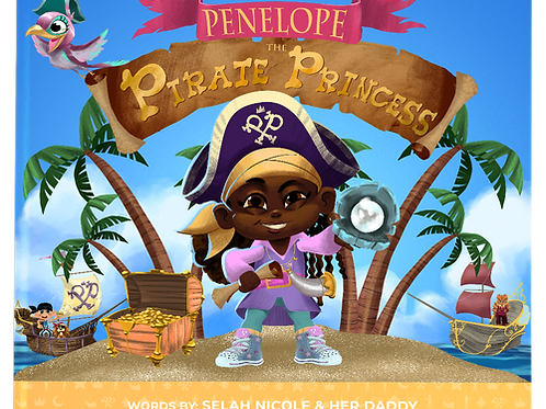 Penelope The Pirate Princess: The search for the Magical Moon Pearl