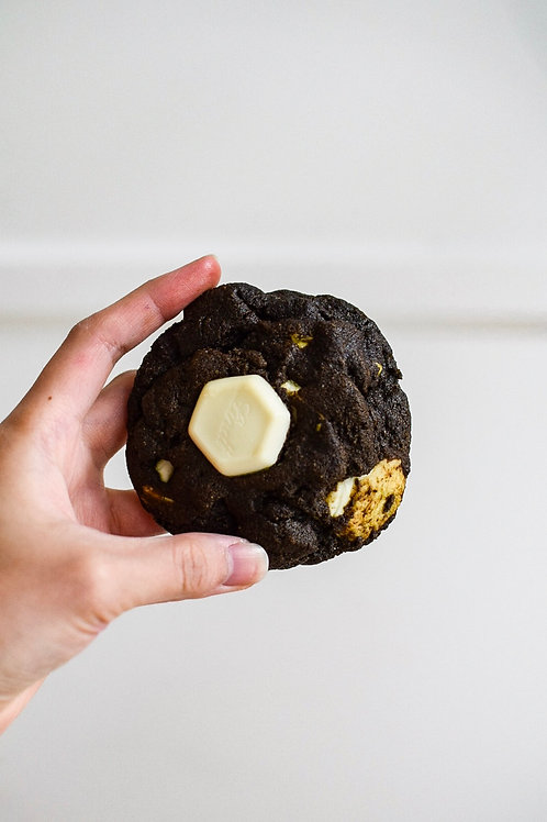 Hojicha White Chocolate Cookie