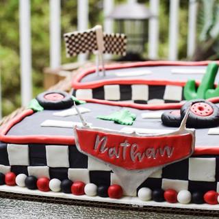 Disney Cars inspired cake