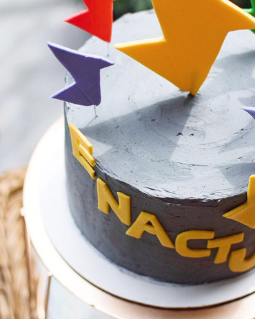 Enactus Cake Topper