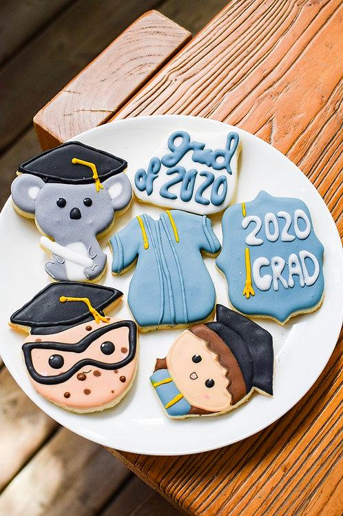 Graduation Sugar Cookie Set