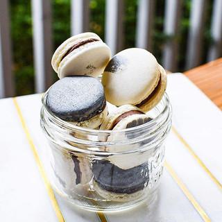 Chocolate Ganache Macaron