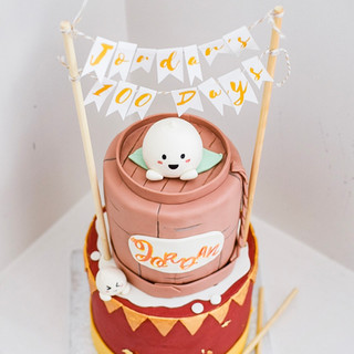 Dumpling cake