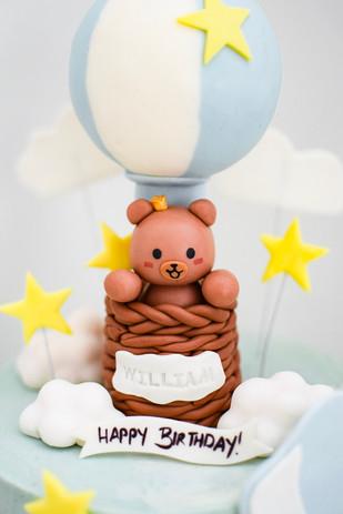 Hot Air Balloon Bear