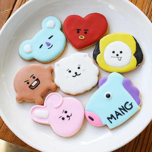 BTS Sugar Cookie Set