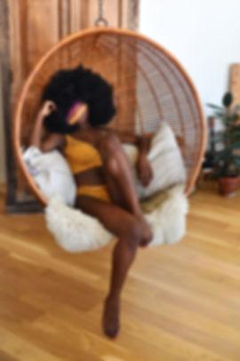 Ebony Black Model NYC Escort Elyse Mache