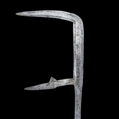 African Ngalio Throwing Sword Sara Tribe Chad C.19th Century.