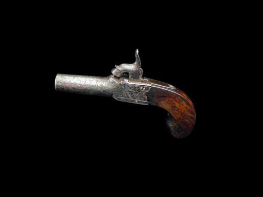 Percussion Cap Pocket Pistol