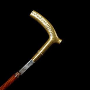 A Military Sword Stick C. 20th Century.