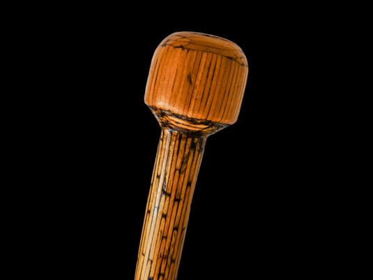 Prisoner of War Walking Cane Matchstick Stick POW WWII World War Two  Item: 129