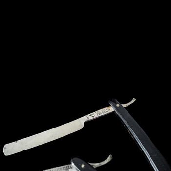A Rare Walking Cane with Shaving Kit System Stick Circa 20th century  Item: 133