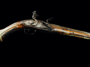 A Balkan Flintlock Pistol C. 1890.