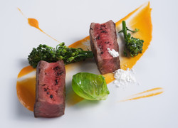 N.Y. Strip steak