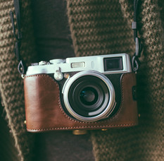 Leder-Kamera
