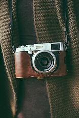 cuoio della macchina fotografica