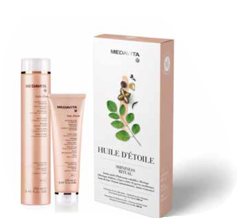Medavita Huile d' étoile shampoo en conditioner duo Glans natuurlijke