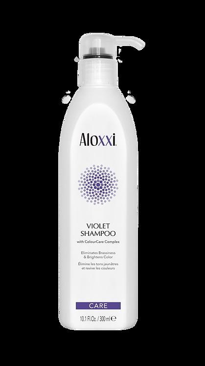 Aloxxi violet shampoo zilvershampoo voor gekleurd haar blond