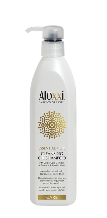 Aloxxi Essential 7 cleansing oil shampoo 300ml - glans
