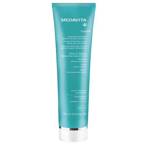 Medavita Solarich UV protectie Intensive Restructuring after sun hair mask 150ml