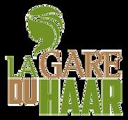logo van kapsalon la gare du haar