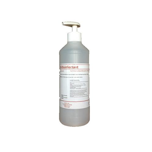 Desinfecterende handgel D-Disinfectant 70% - 250ml pomp