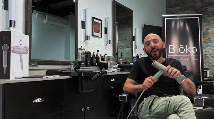 Review van de Gama IQ Perfetto haardroger door Donald Pedulla. De lichtste haardroger ter wereld. De krachtigste haardroger ter wereld. Gama IQ vs Dyson.